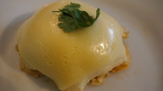 Japanese Cooking | Omurice Ball Japanese Rice Omelette with Cheese