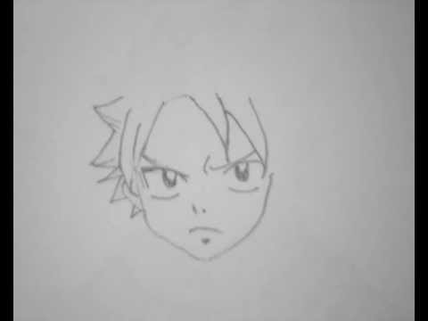 Comment Dessiner Natsu De Fairy Tail Youtube