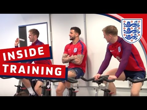 Exclusive - England recovery & training session | Inside Training