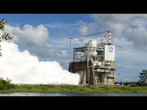 "NASA Tests New Rocket Engine For ""Deep Space"" Quest"