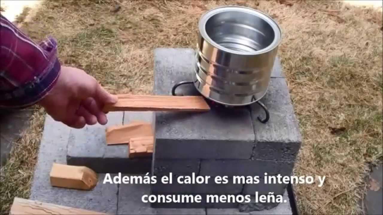 Construcci n de una estufa muy econ mica con ladrillos Construir una pileta de ladrillos