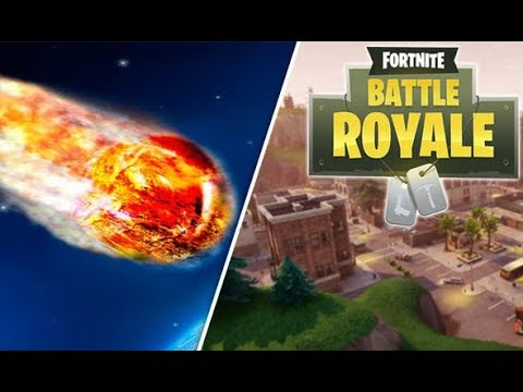 METEORS ARE NOW HITTING FORTNITE - BRACE FOR IMPACT (NOT CLICKBAIT)