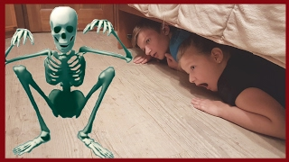 ☀СКЕЛЕТ Атакует Bad baby Вредные детки☀HAUNTED SKELETON ATTACKS Bad Baby