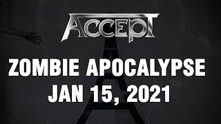 """ACCEPT - New Single """"Zombie Apocalypse"""" Out January 15th (OFFICIAL TRAILER)"""
