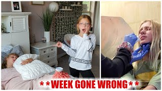 Francesca and Leah's Week **GONE WRONG**!!!