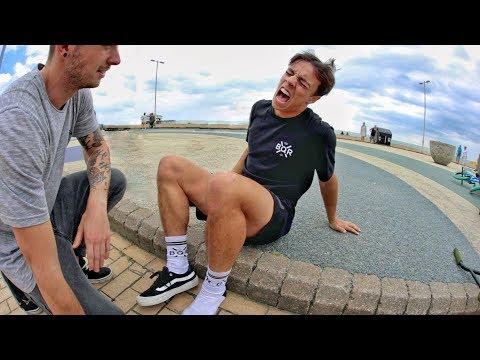 Webisode 14: Broken bones in Brighton