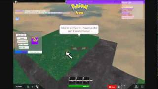 axew in roblox pokemon arena x