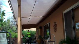 Shade Screen For Patio Cover Or Walls
