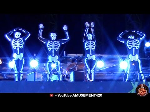 SKELETON ACROBATS - SKELETON CREW Cedar Point HalloWeekends  | amusement420