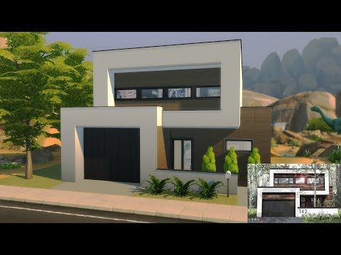 Maison Moderne Sims 4 Construction Sans Cc Youtube