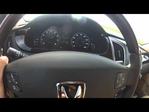 2013 Hyundai Equus Accelerating 0 100 GoPro HD