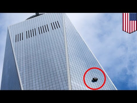 WTC One accident: Window washers left dangling from 1 World Trade Center's 69th floor