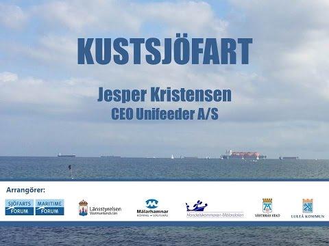 2016-02-16 Kustsjöfartskonferens - Jesper Kristensen, Unifeeder A/S - Del 6 (av 10)