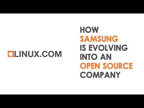How Samsung is Evolving Into an Open Source Company