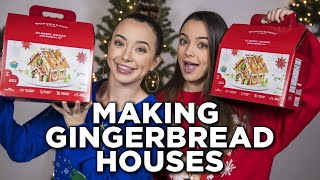 We are Making Gingerbread Houses - Merrell Twins Live