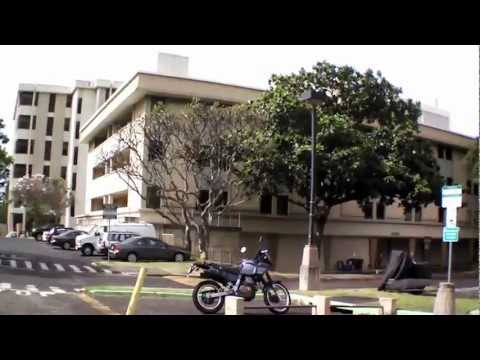 AR Drone 2.0 Fly through University of Hawaii Campus
