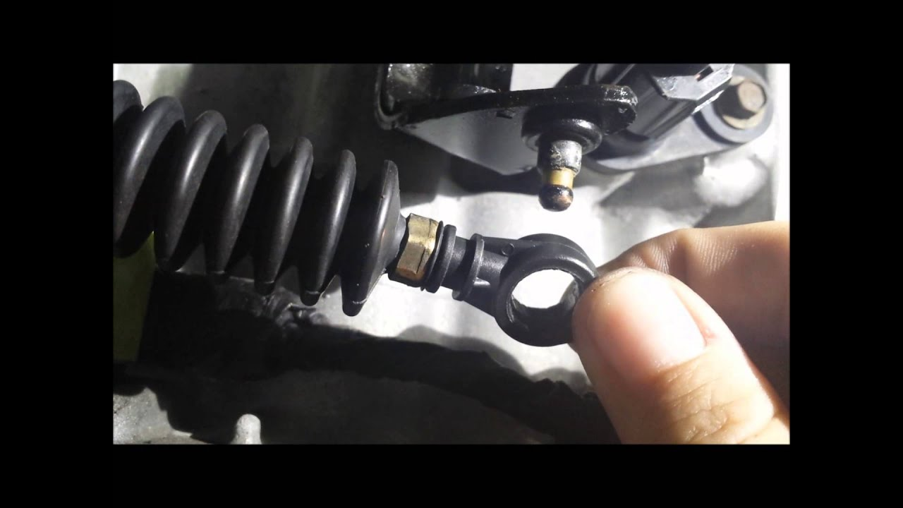 chrysler sebring shift cable the easiest way to repair tb1kit includes replacement bushing youtube [ 1440 x 1080 Pixel ]