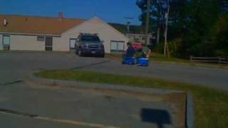 Cooler-scooter.com: Ride-on Ice Chest, Pulling A Coolagan Trailer