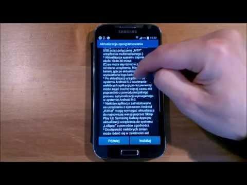 Galaxy S4 i9505 Android LOLLIPOP 5.0.1 PL oficjalna aktualizacja OTA 4 kwietnia 2015