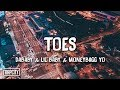 DaBaby - TOES (Lyrics) ft. Lil Baby & Moneybagg Yo