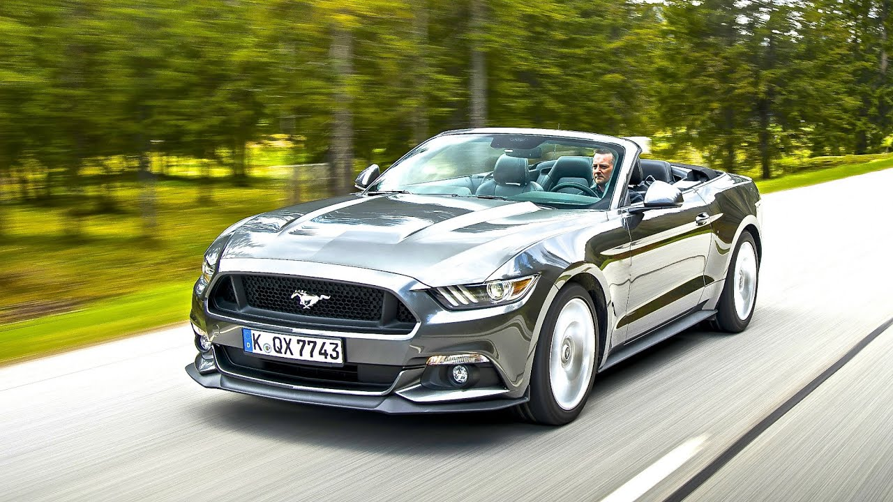 2015 ford mustang 2 3 ecoboost cabrio youtube. Black Bedroom Furniture Sets. Home Design Ideas