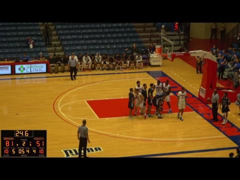 Blue Dragon Men's Basketball vs. Independence