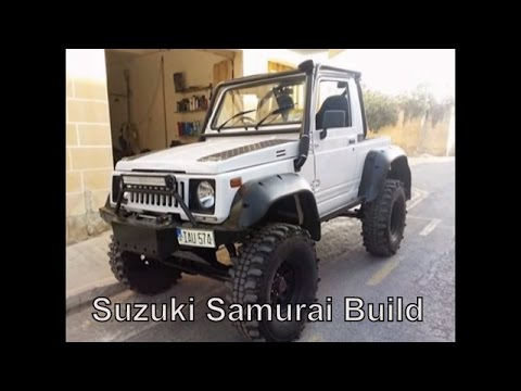 4x4 - Project 2 - Suzuki Samurai Build