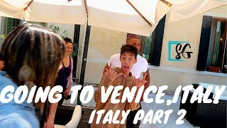 Venice trip part 2 with friends - Going to Venice,Italy vlog and dance