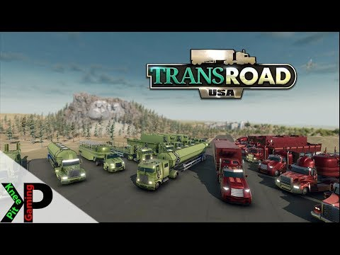 TransRoad:USA Lets Play #28 - Flatbed Trailers - TransRoad:USA Gameplay