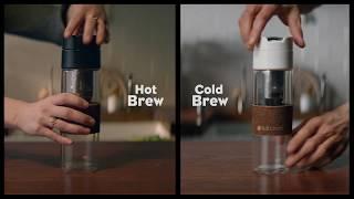 How to Make Hot & Cold Brew (ホットコーヒーと水出しコーヒーの作り方) thumbnail