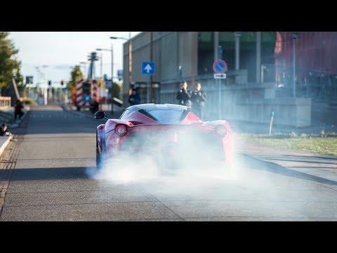 Crazy Ferrari LaFerrari  Burnouts, Revs & Accelerations !