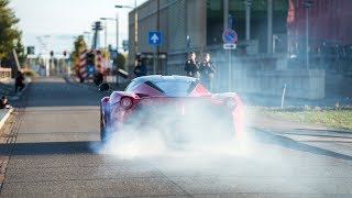 Crazy Ferrari LaFerrari - Burnouts, Revs & Accelerations !