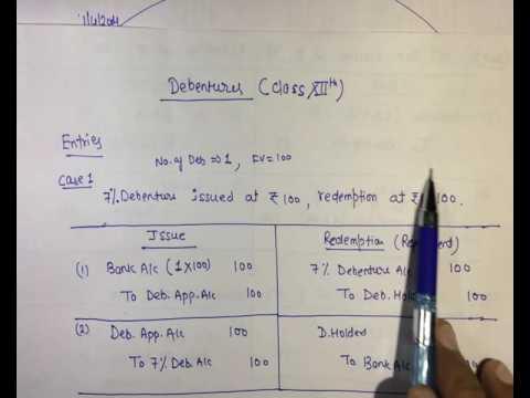 ISSUE OF DEBENTURES CLASS 12 EPUB