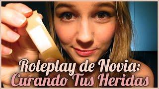 [ASMR EN ESPAÑOL] Roleplay de Novia: Curando Tus Heridas (sin género, atención personal, besos)