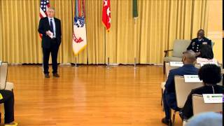 Promotion Ceremony in honor of Colonel Richard Dix to Brigadier General (Chapter 1)