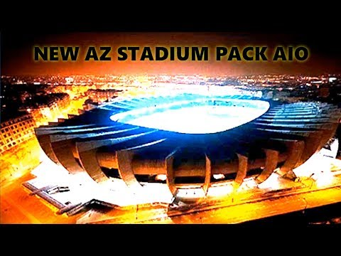 NEW AZ STADIUM PACK ALL IN ONE (AIO) [download U0026 Install]   PES 2017