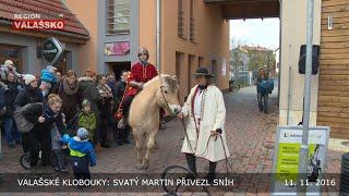 Valašské Klobouky: Svatý Martin přivezl sníh