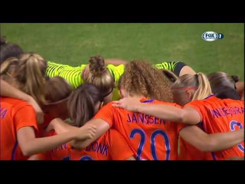 International Friendly. Women. USA - Netherlands (18/09/2016)