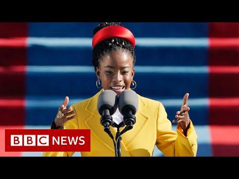 Biden inauguration poet Amanda Gorman: 'Poetry is a weapon' - BBC News
