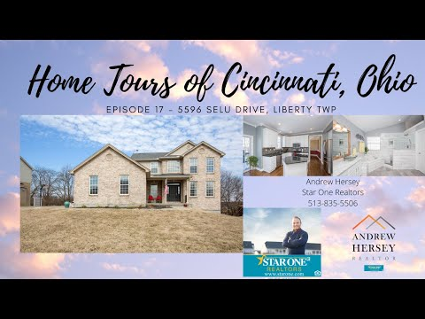 Home Tours of Cincinnati, Ohio - Episode 17 - 5596 Selu Drive