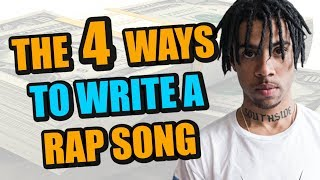 The 4 Different Ways To Make A Rap Song (Beat Or Lyrics First?)