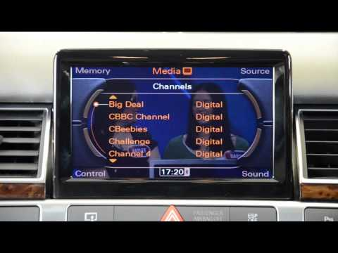 Satnav Systems presents: Audi Digital TV