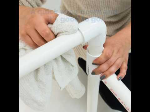 Christy's DIY PVC Pipe Laundry Basket