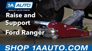 Where to Lift Jack Up and Support Ford Ranger BUY QUALITY AUTO PARTS AT 1AAUTO.COM