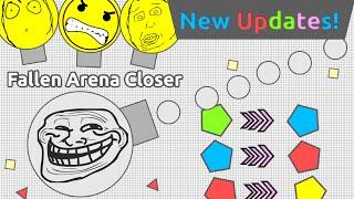 """FALLEN ARENA CLOSER"" & COLOR CHANGING PENTAGONS!! -Diep.io New Update Fallen Arena Closer Spotted!"