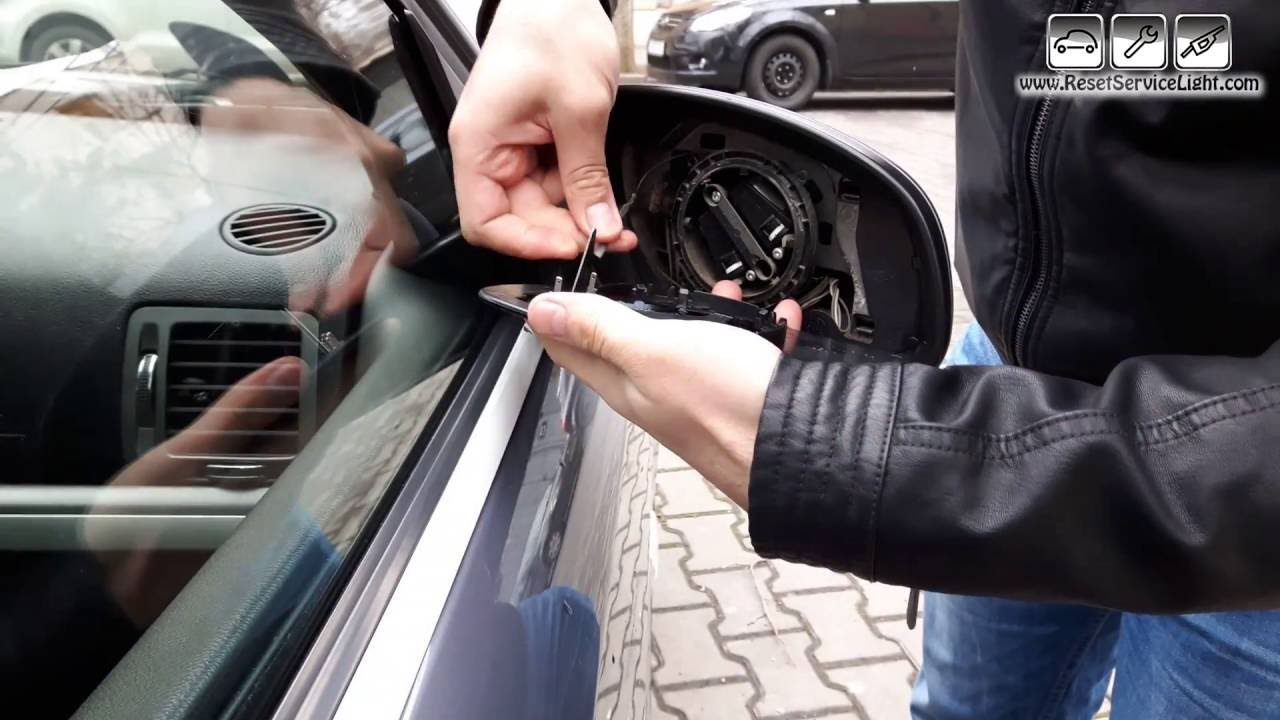Replace Wing Heated Mirror Glass Opel Vectra C