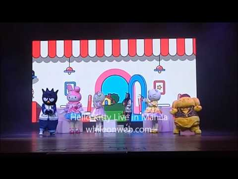 Hello Kitty Live in Manila