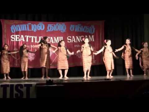 Soi Soi dance at Kalakkal 2013 - Seattle Tamil Sangam