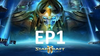 STARCRAFT 2 LEGACY OF THE VOID PT BR EP1 # POR AIUR !#!
