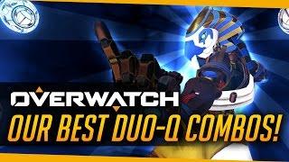 Overwatch   Our Best Duo Queue Hero Combos!